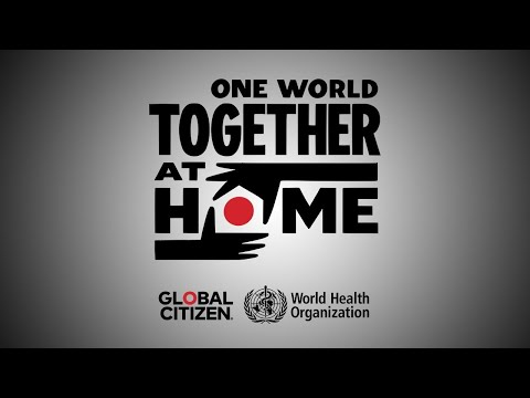 🔴 ONE WORLD : TOGETHER AT HOME - Digital Show