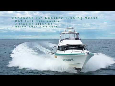 Conquest 55 Lobster Vessel FOR SALE @ Oceaneer Marine Brokers