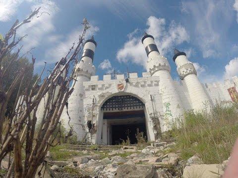 Camelot Theme Park - Abandoned - 4th Visit 2016