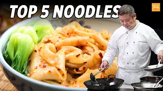 Top 5 Noodles by Masterchef l How to make Chinese Food • Taste Show