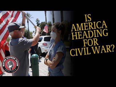 Wayne Dupree Show | Is America Heading Toward A Civil War?