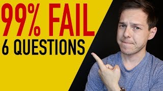 99% fail these 6 money questions...