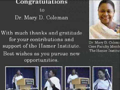 Hamer 2010 Humanitarian Award.wmv