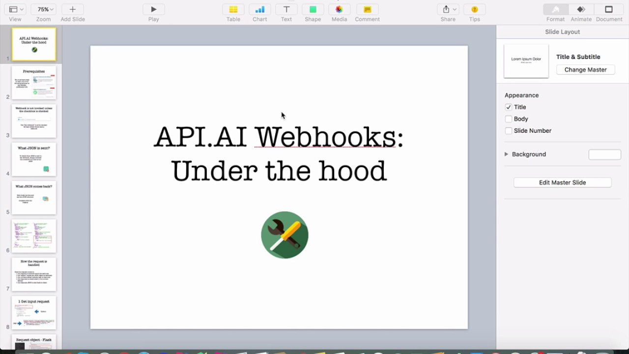 DialogFlow (formerly API AI) webhooks under the hood