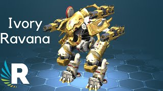 War Robots: NEW IVORY RAVANA With IVORY ATOMIZER And IVORY SCOURGE
