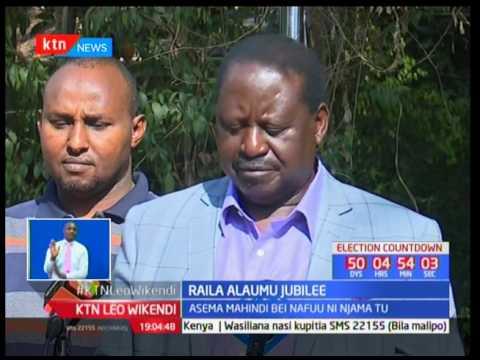 Raila Odinga alaumu Jubilee dhidi ya njaa Kenya