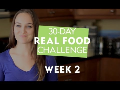30-Day Real Food Challenge with Erin Motz - Week 2