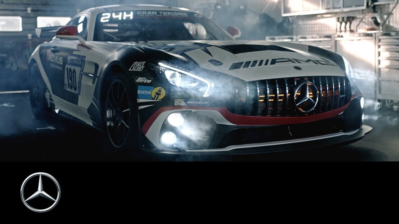 mercedes-amg gt4: 24 hours nürburgring 2018 - youtube