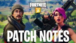 FORTNITE CHAPTER 2 PATCH NOTES! New Fortnite Map, New Weapons, Fortnite Fishing Boats and MORE!