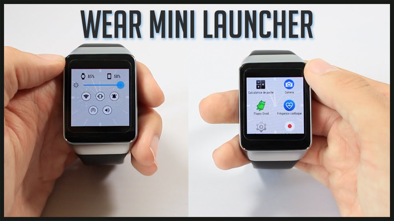 application pour android wear