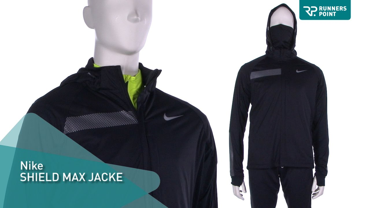Nike Shield Max Herren Laufjacke - YouTube 5b3e01f8c7