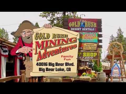 When In Big Bear, Visit Gold Rush Mining Adventures!