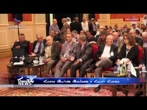 Assyria TV -  Assyrian Participation SNC Meeting in Doha
