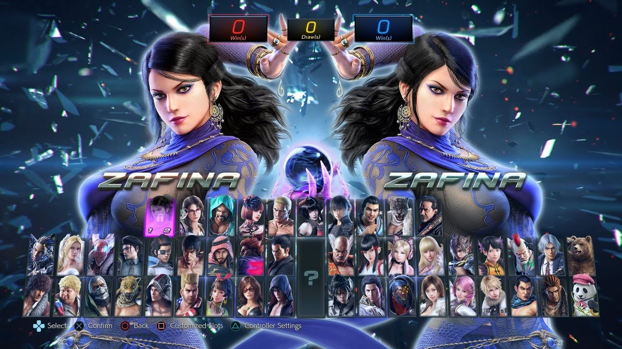 Tekken 7 S3 Character Select Screen Update New Music And Preset