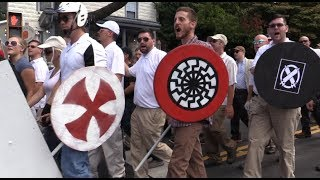 Blood and Soil In #CHARLOTTESVILLE: Nazis Chant 'Jews Will Not Replace Us' 8/12/17
