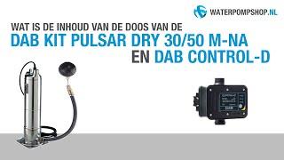 DAB Kit Pulsar Dry 30/50 MNA + Presscontrol Regenwaterpomp - Unboxing