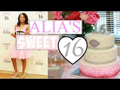 Alia's Sweet Sixteen
