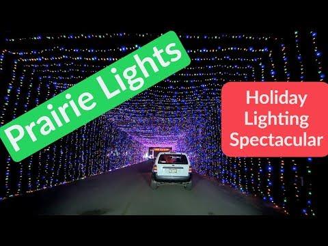 Prairie Lights Drive Through - Grand Prairie TX - Holiday Lights and Decor