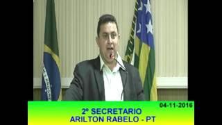 Arilton Rabelo Pronunciamento 04 11 16