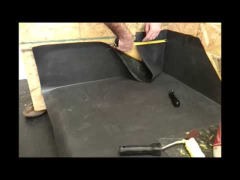 form a flat roof internal corner with firestone epdm youtube. Black Bedroom Furniture Sets. Home Design Ideas