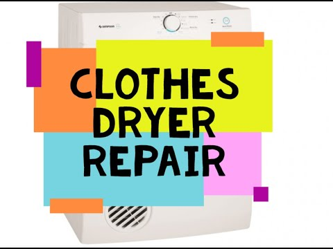 Simpson/Fisher And Paykel Clothes Dryer Diagnosis & Repair