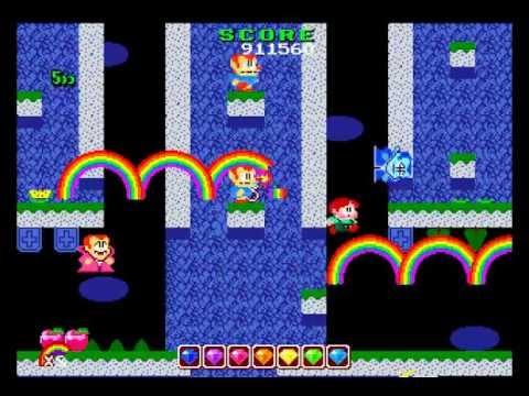 PC Engine Longplay [262] Rainbow Islands: The Story of Bubble Bobble II