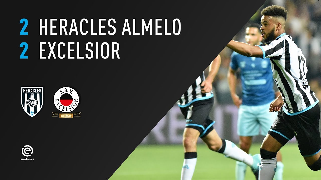 Heracles Almelo - Excelsior 2-2 | 26-08-2017 | Samenvatting