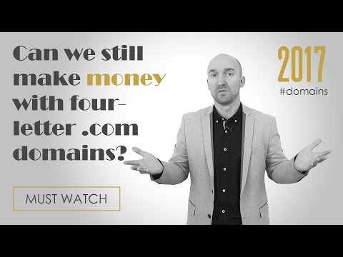 Is it too late to make money on four-letter .com domains?