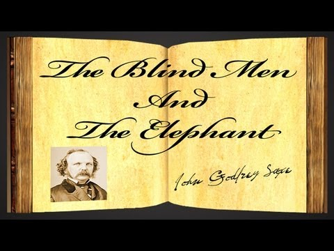 The Blind Men And The Elephant by John Godfrey Saxe - Poetry Reading