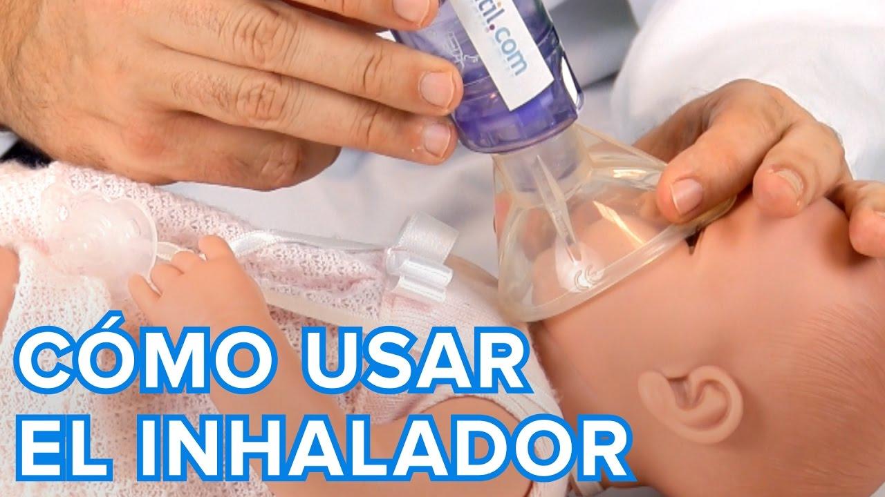 Cómo usar un inhalador con cámara espaciadora | Salud infantil