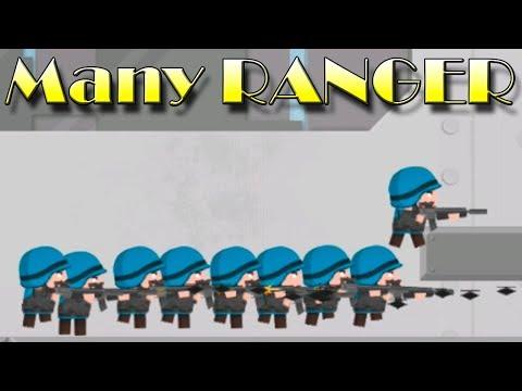 Clone Armies! Many RANGER! Sandbox games! Тест рейнджера! игры на андроид