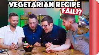 """VEGETARIAN"" Recipe Relay Challenge 