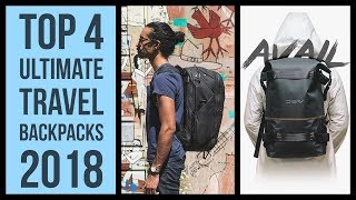 Top 4 best travel backpack 2018 | Peak Design travel backpack camera