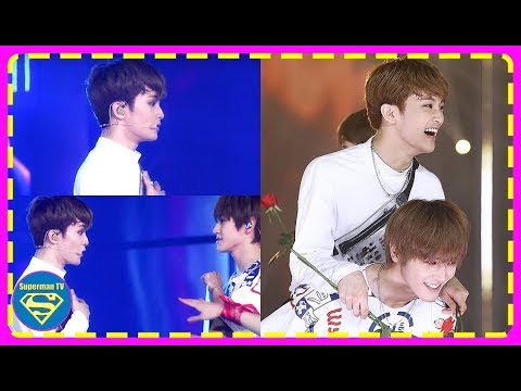 NCT's Mark Was Taken By The Sweetest Surprise That Taeyong Presented To Him In Their Performance