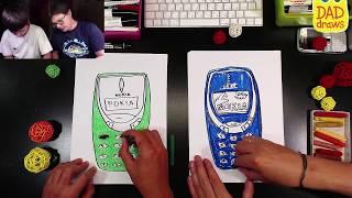 How to draw Nokia 3310