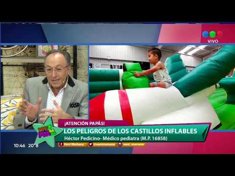 PELIGROS DE LOS CASTILLOS INFLABLES