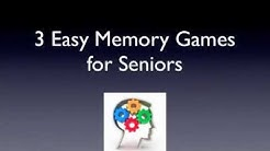 3 Easy Memory Games for Seniors