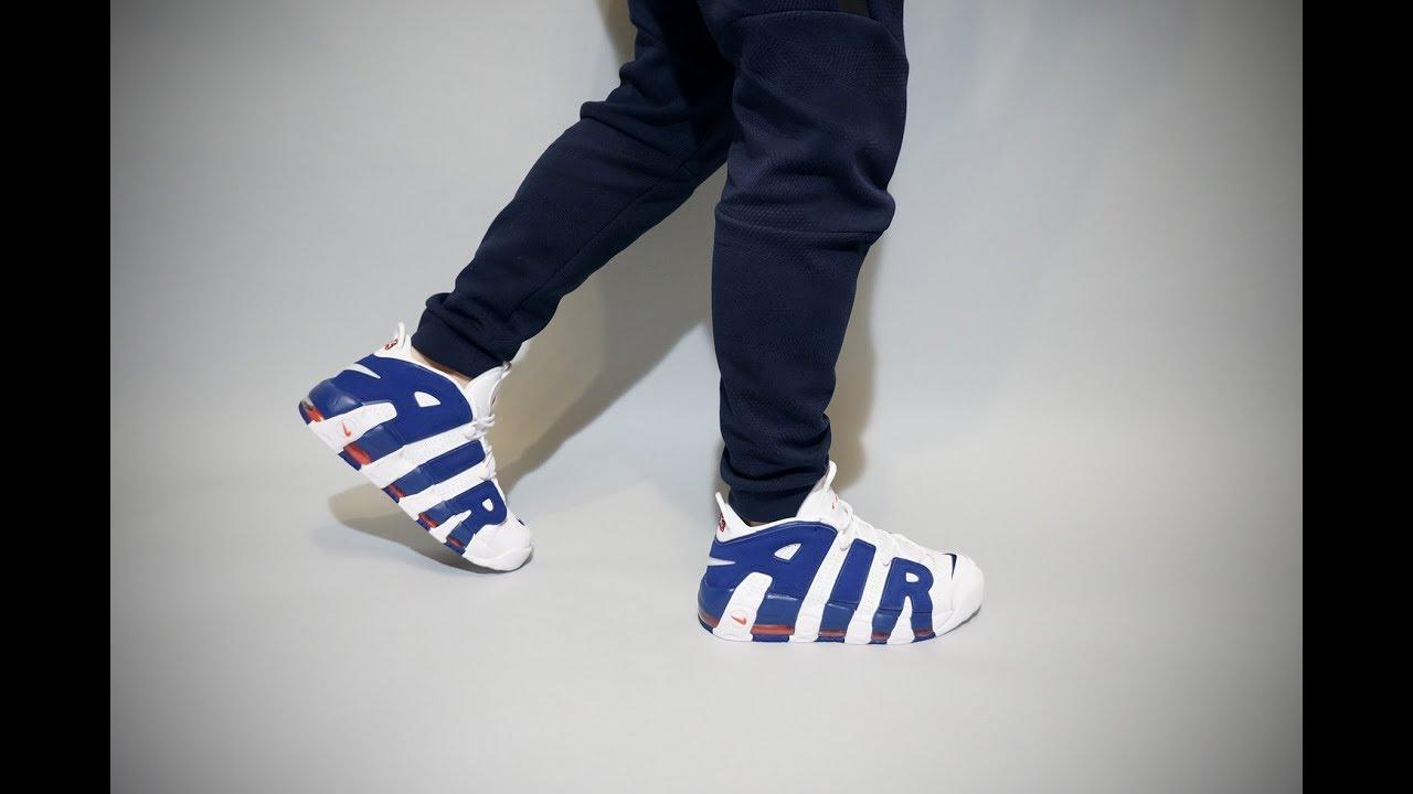 daf21c18afa Nike Air More Uptempo 96 Knicks On Feet