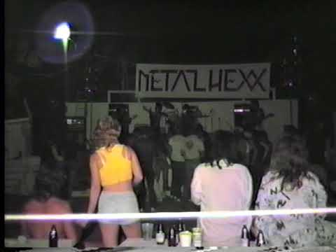 Metal Hexx- Helvetia Park, Sacramento Ca. 1985 xfer from master VHS VIDEO tape!