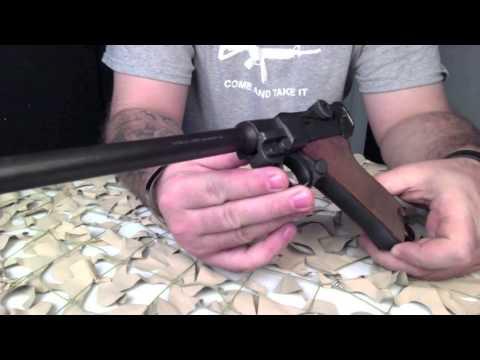 DWM Luger Artillery Clone 8 Inch Semi Auto Pistol Overview   Texas Gun Blog
