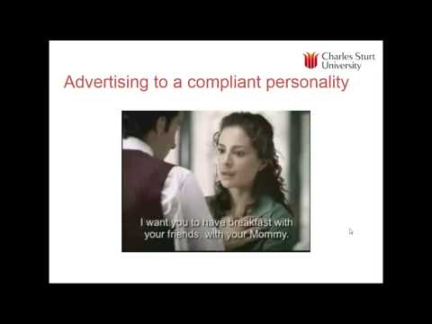 Lecture 6: Personality and self concept