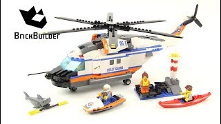 Lego City 60166 Heavy-Duty Rescue Helicopter - Lego Speed Build