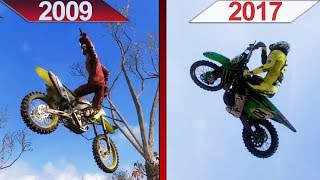 SBS Comparison | MX vs ATV Reflex (2009) vs. MXGP 3 (2017) | ULTRA | GTX 970