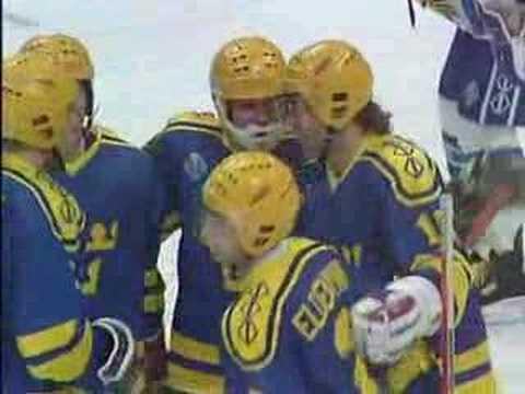 Hockey-VM 1989 - Det bästa från Tre Kronor - YouTube