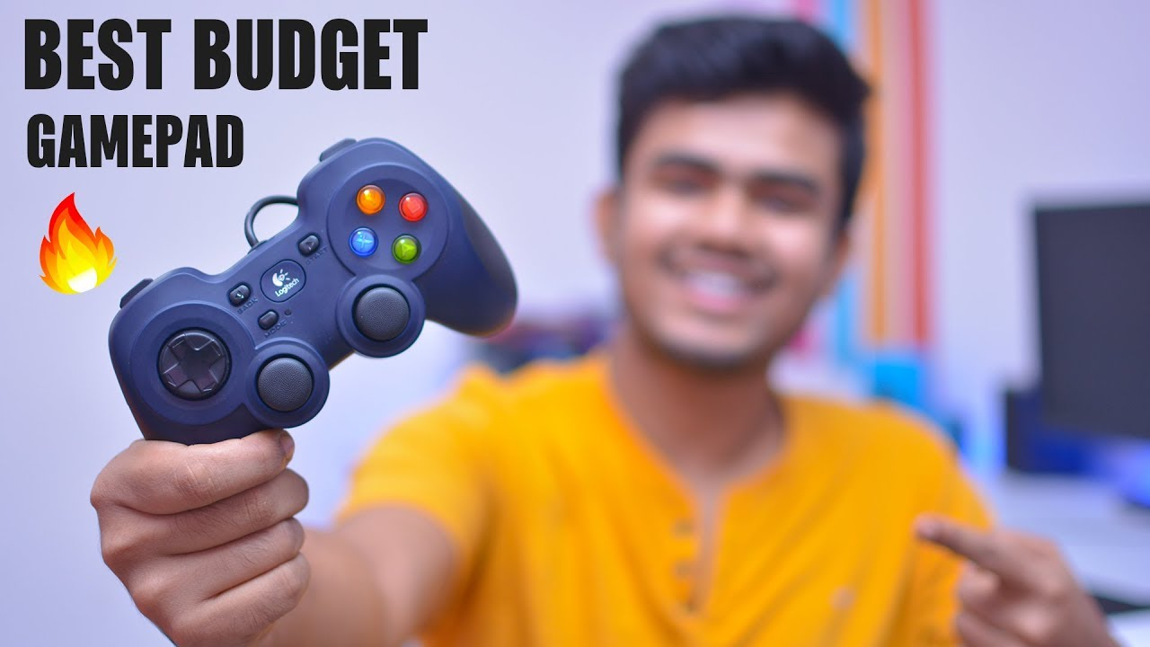 Best Budget Gamepad For PC | Logitech F310 Gamepad | Unboxing, Review &  PUBG Game Test