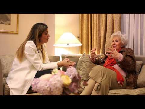 Igualdad Cultural TV entrevistó en exclusiva a Estela de Carlotto