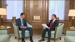 الرئيس السوري بشار الأسد يتهم تركيا  بتأجيج الصراع في بلاده