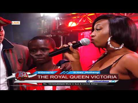 Victoria Kimani interview LIVE on #10over10
