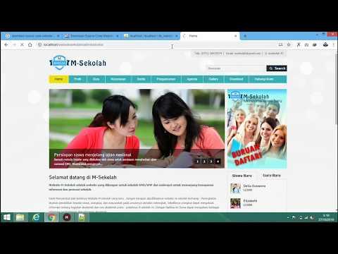 SOURCE CODE WEBSITE SEKOLAH GRATIS