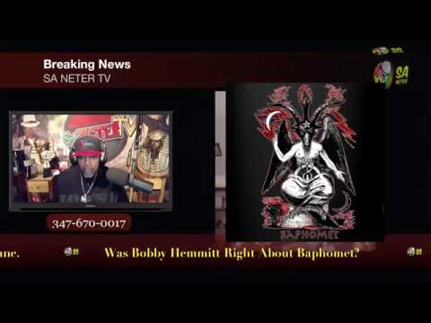 Was Young Pharaoh Right About Bobby Hemmitt? Who Is Lucifer And What Is The Baphomet? Rebuttal To YP